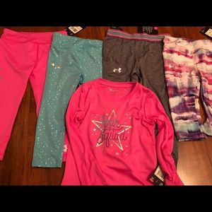 NWT 2t Under Armour Lot of 5